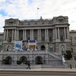 Library of Congress, Thomas Jefferson Building in Washington DC, USA
